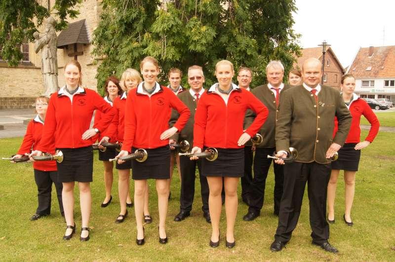 2013-06-30 Kreiswettbewerb im Jagdhornblasen 6 Ahlen-I-Gruppe-800