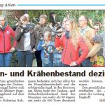 Biwak mit Tauben & Kräentag des Hegeringes