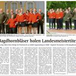 AZ Jagdhornbläser holen Landesmeistertitel