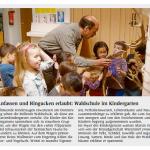Waldschule im Marienkindergarten