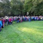 Walderlebnistag mit 240 Schülern