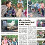 Pressespiegel zum Walderlebnistag