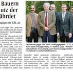 Protest gegen das Landesjagdgesetz NRW