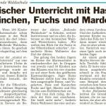 Ahlener Zeitung 20.02.2014