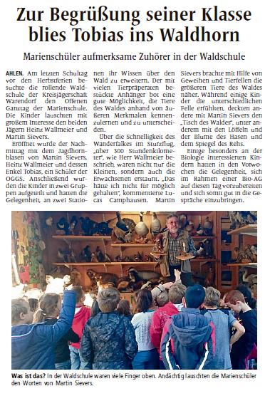 Waldschule-OGGS Marienschule-AZ