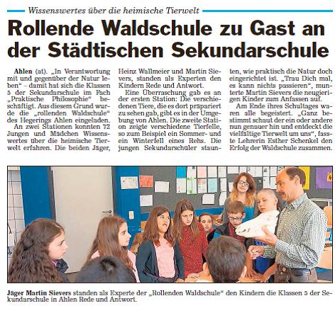 Waldschule-Sekundarschule Glocke AT